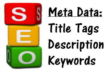 Changement Title et Méta description