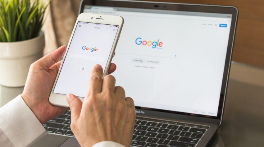 google - creation site internet ile maurice
