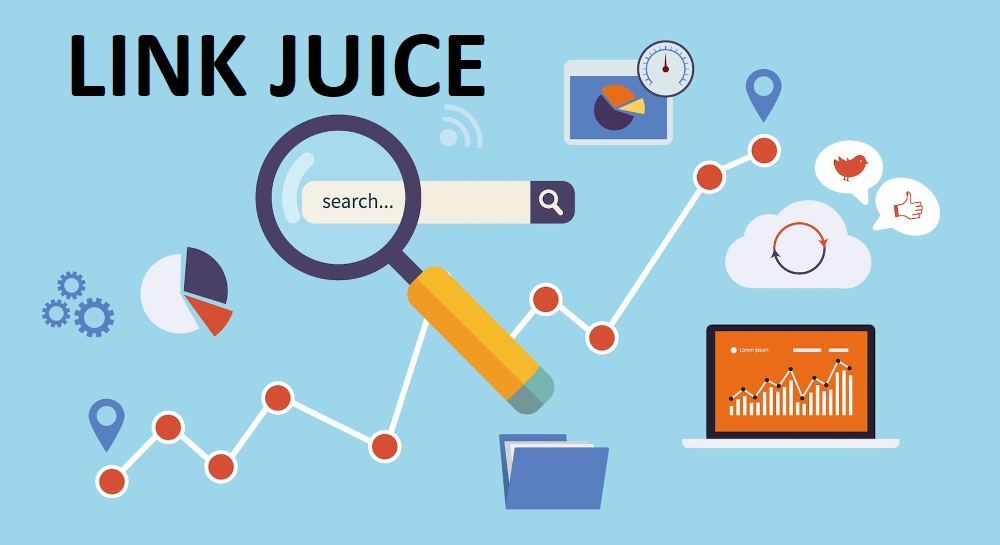 link juice - creation site internet ile maurice