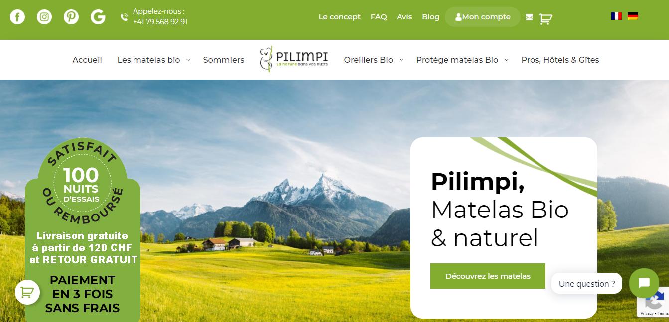Pilimpi - Agence web
