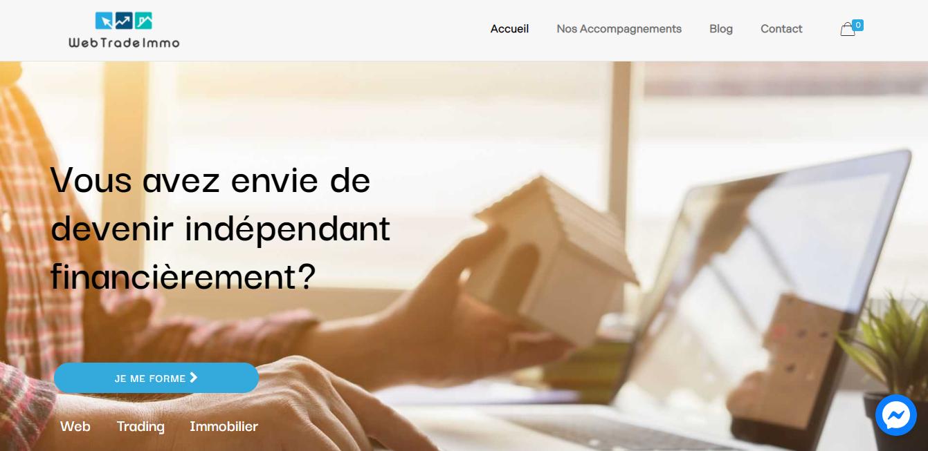 Web trade Immo - Agence web ile maurice