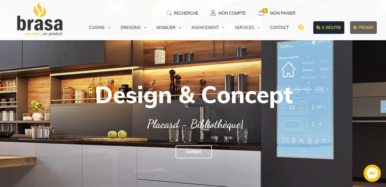 brasa - Creation site web pas cher
